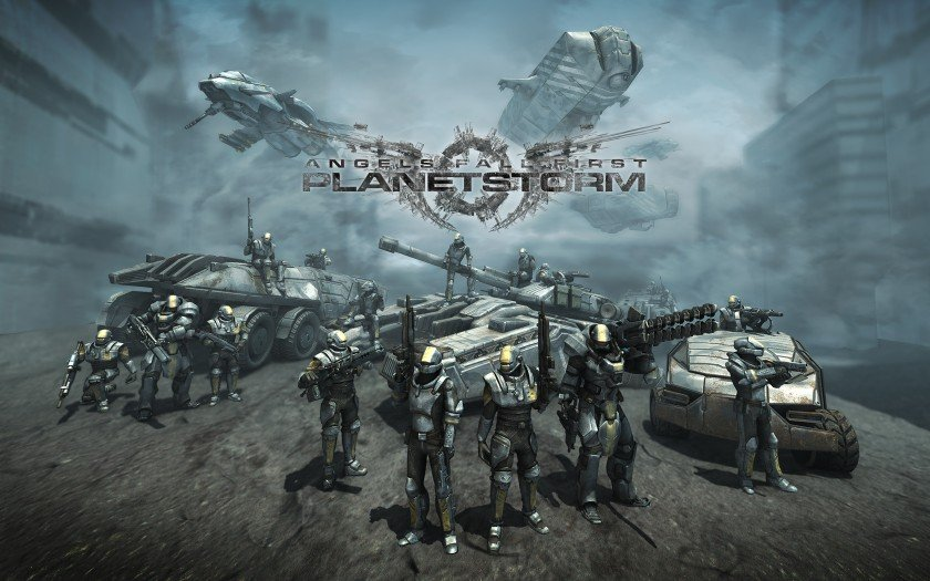 Angels Fall First PlanetStorm