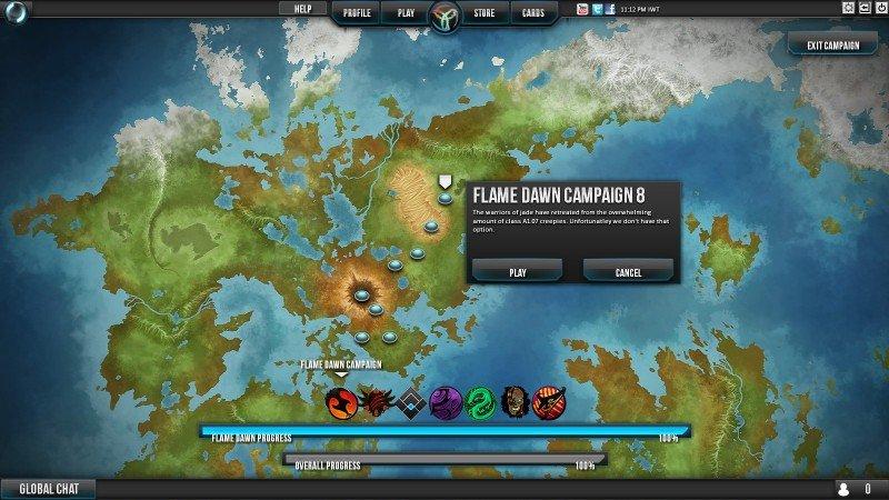Mapa de Campaña de Infinity Wars
