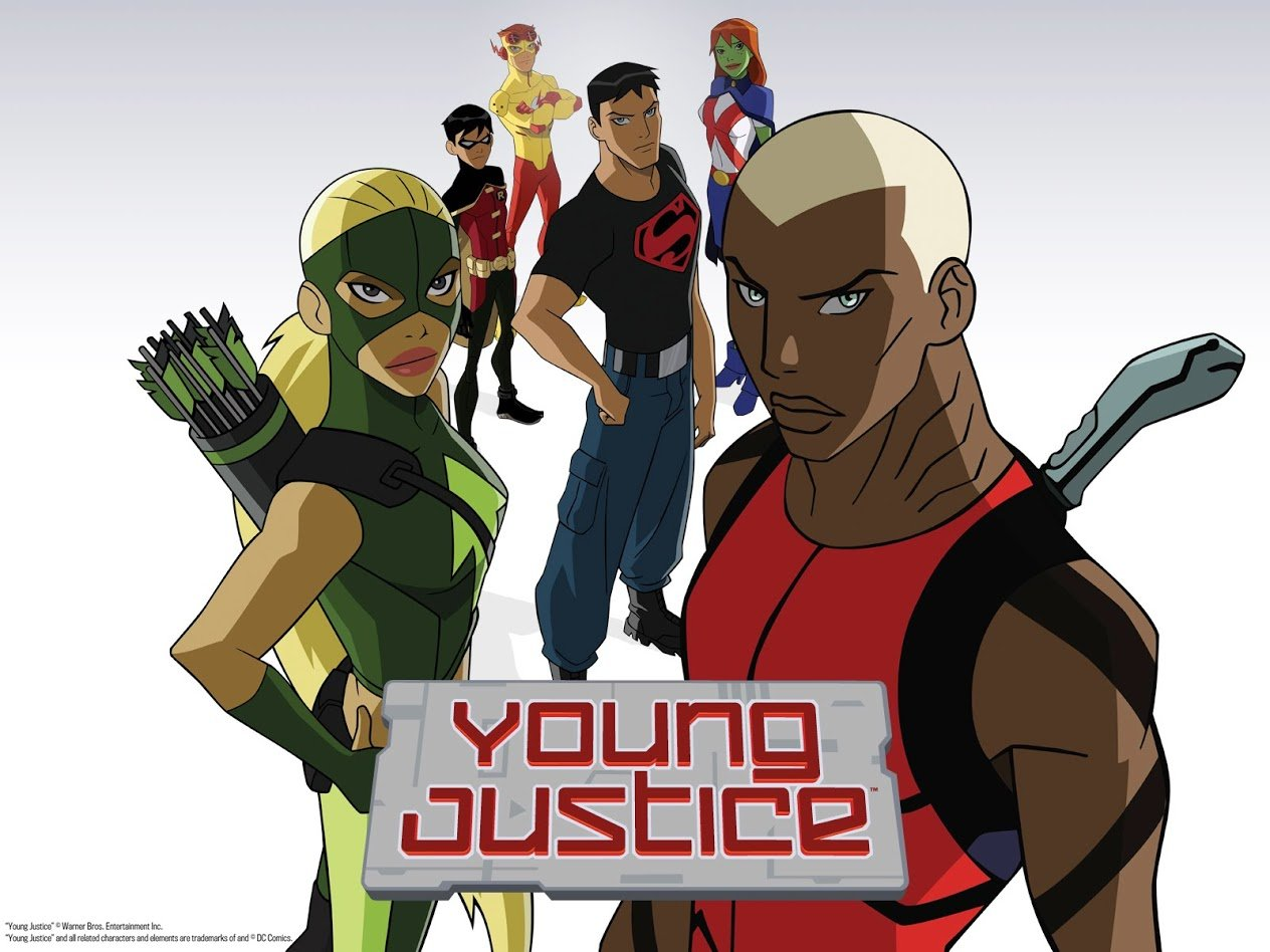 Young Justice Whole Team