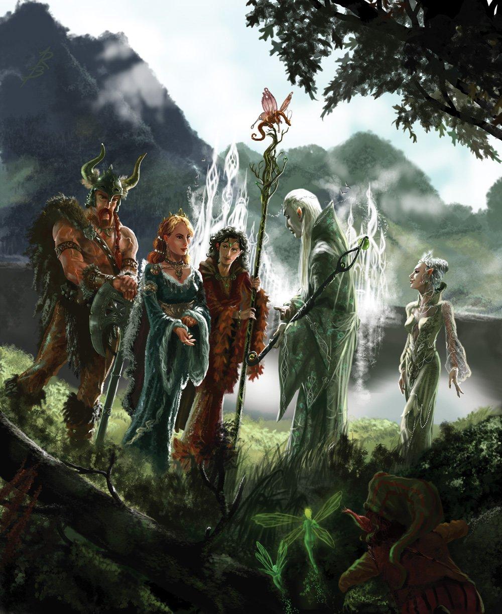 Grupo de Personajes