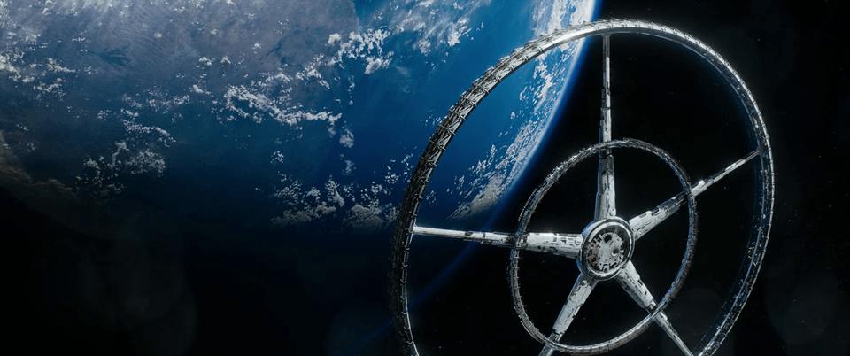 Elysium Space city