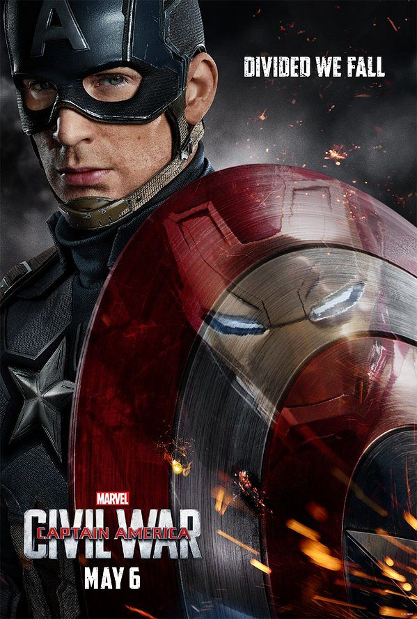 Civil War Iron Man in Shield