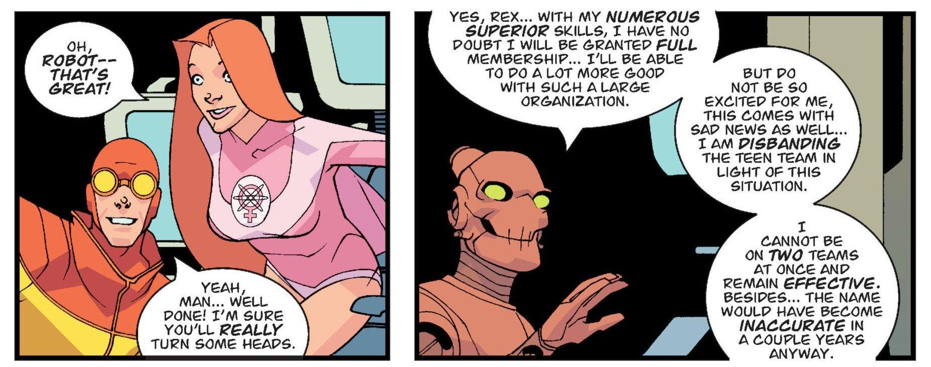 Invincible 006 Robot Superior