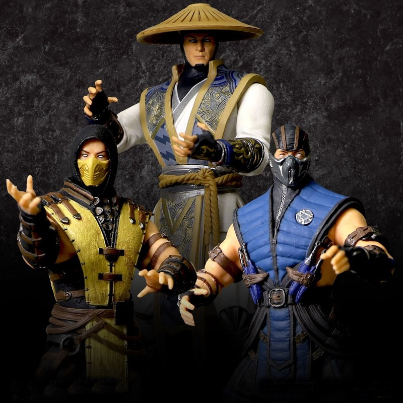 Mortal Kombat Figures