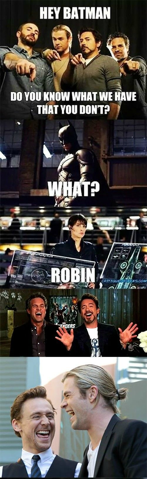 Avengers Vs Batman 2