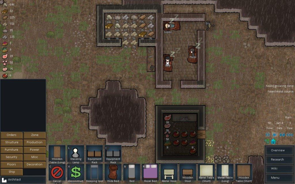Rimworld Starting Colony