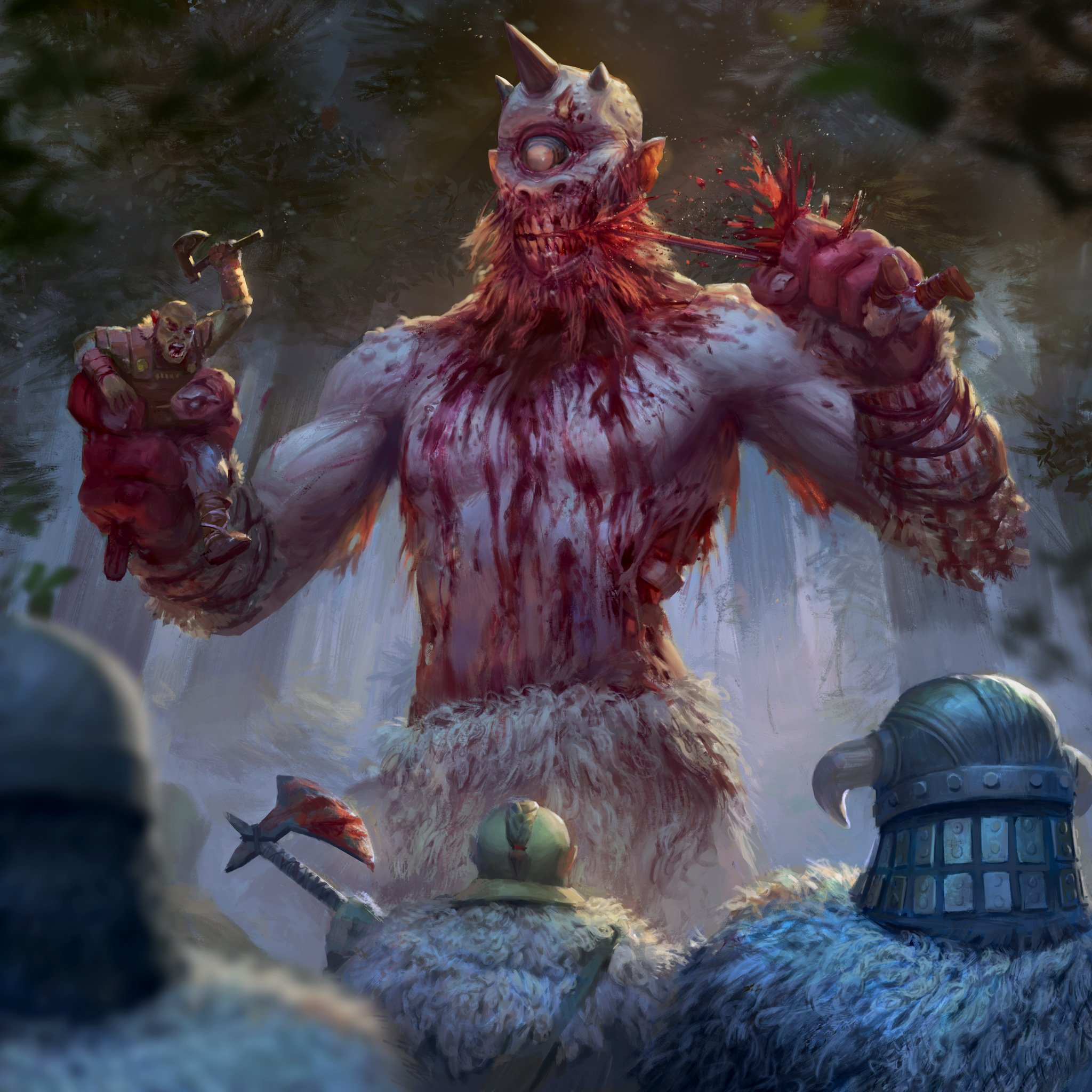 Blight of the Inmortals Zombie Giant