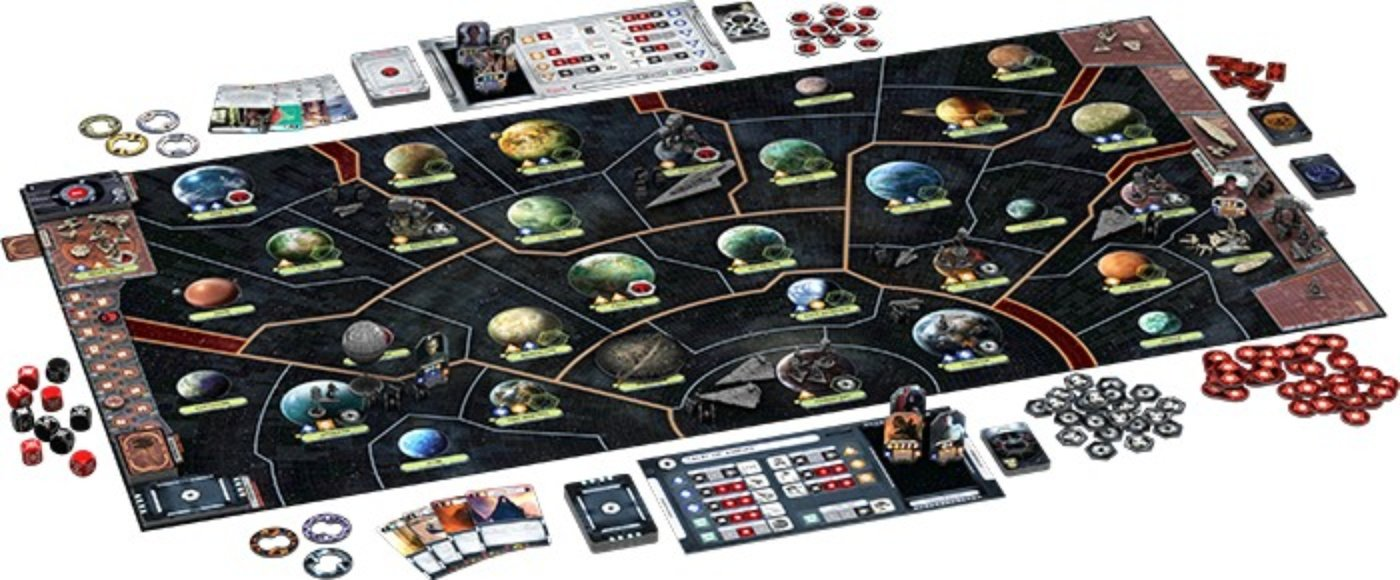 Star Wars Rebellion tablero