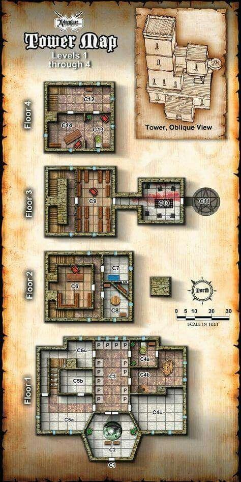 tower-map mapas gratis