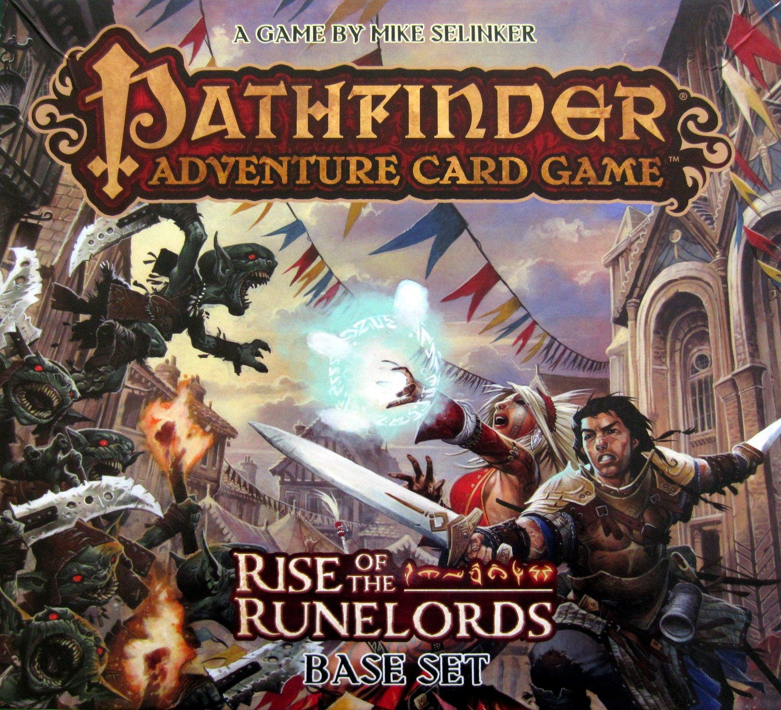 Juego de Cartas de Pathfinder