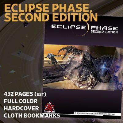 Eclipse Phase Second Edition KickStarter Portada
