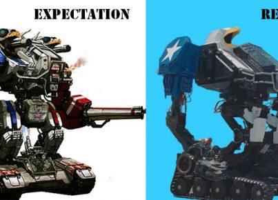 MegaBots Expectaciones vs Realidad