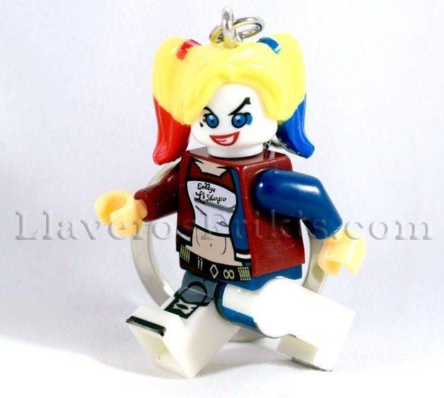 Llaveros de películas Harley Quinn LEGO