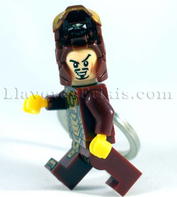 Llaveros de películas Iron man LEGO