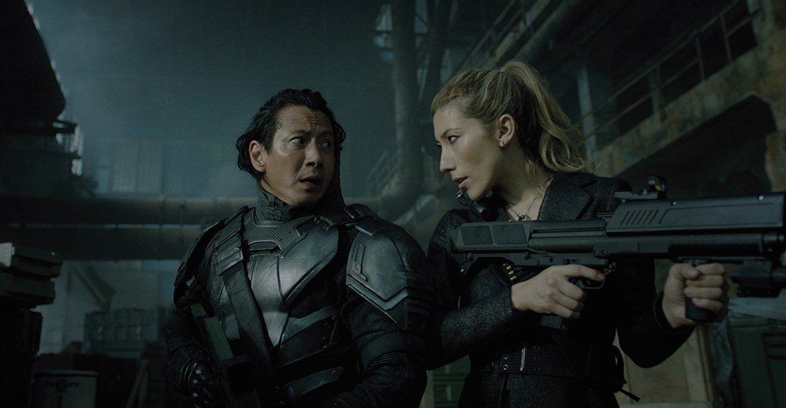 Altered Carbon Hermanos