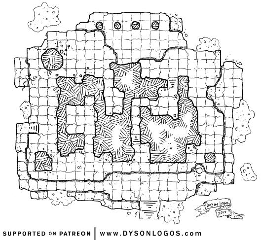 1000+ Mapas Gratis para tu juego de Rol Templo de las Wyvern