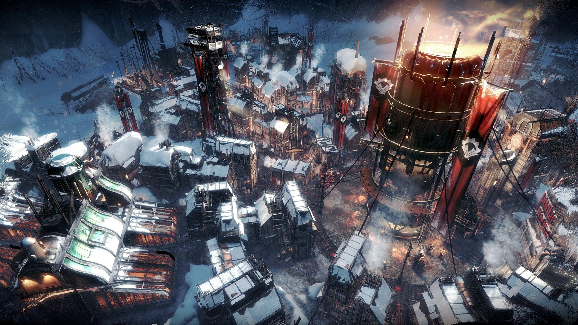 Frostpunk Preview en Español Colonia en Perspectiva
