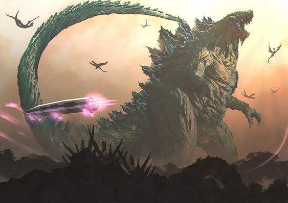 Godzilla Planeta de los Monstruos Llegada