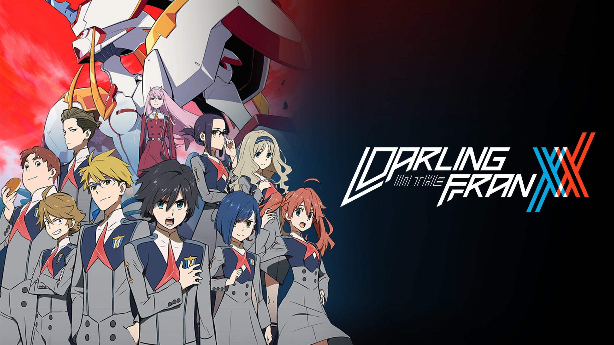 Darling in the FranXX Portada con Título