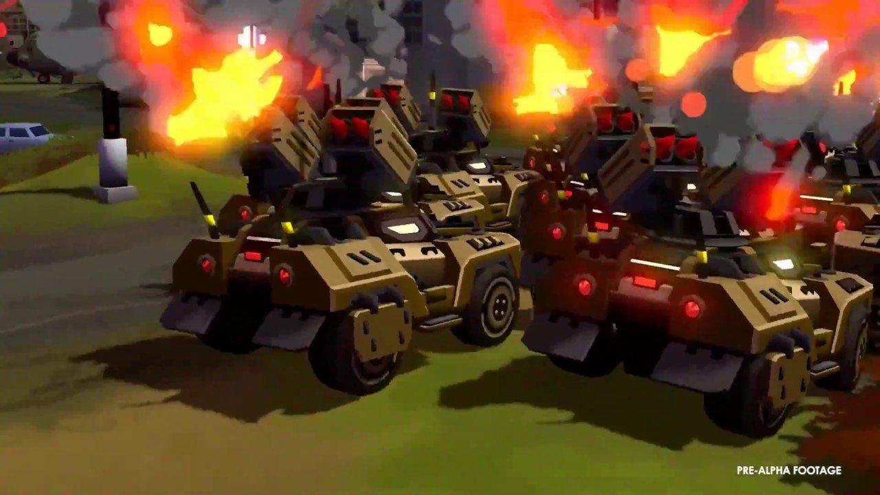 Forged Battalion Vehículos de cerca