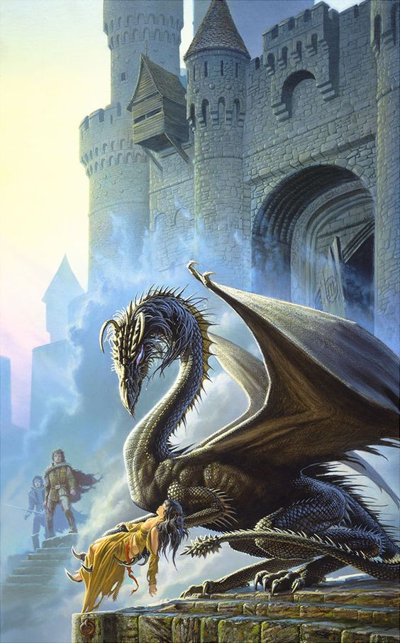 Dragonsbane por Michael Whelan