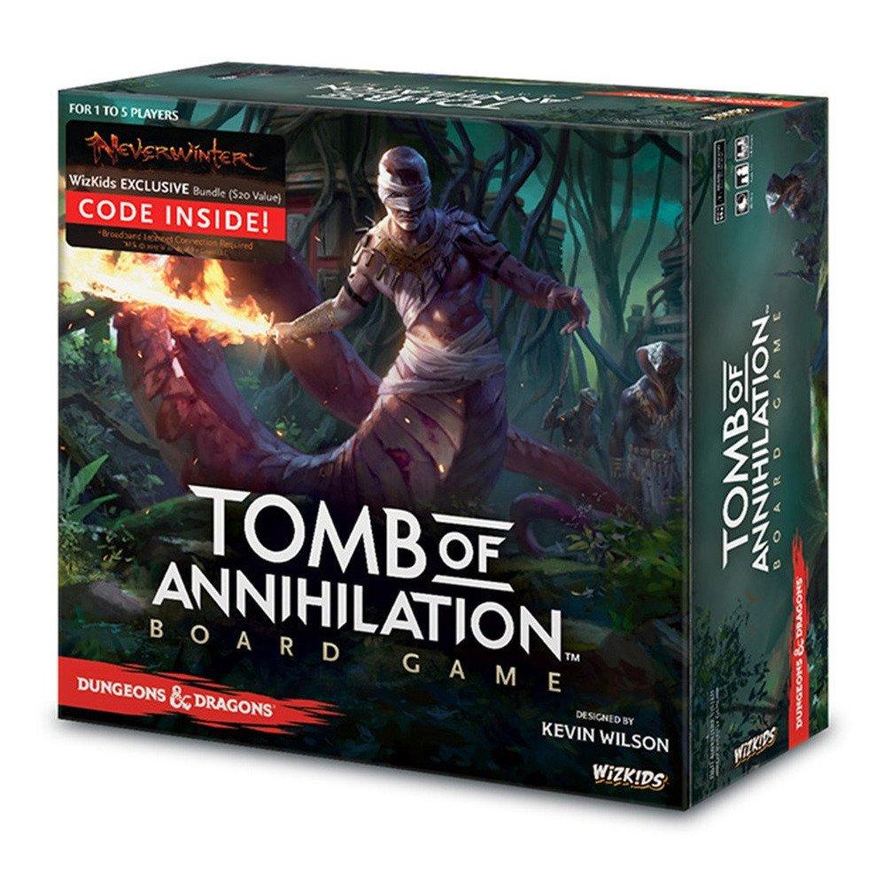 Los Mejores Juegos de Miniaturas de Ciencia Ficción y Fantasía Tomb of Annihilation
