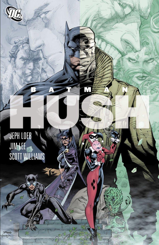 Batman: Hush Portada
