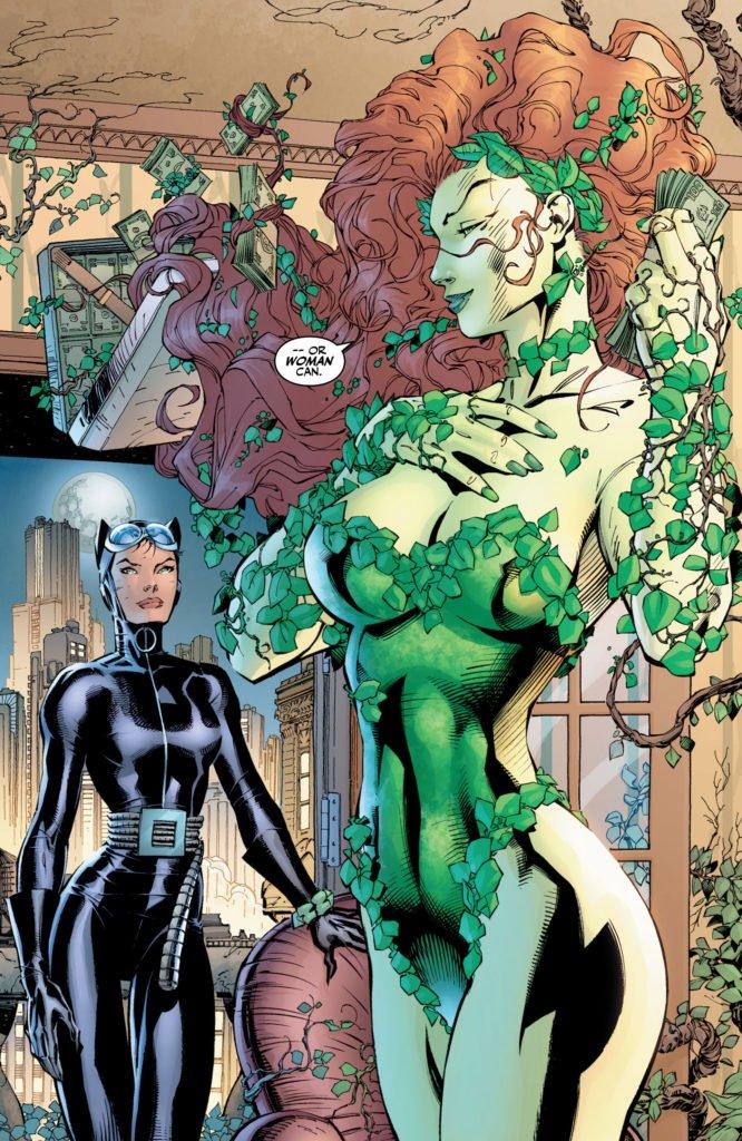 Batman Hush - Poison Ivy y Catwoman
