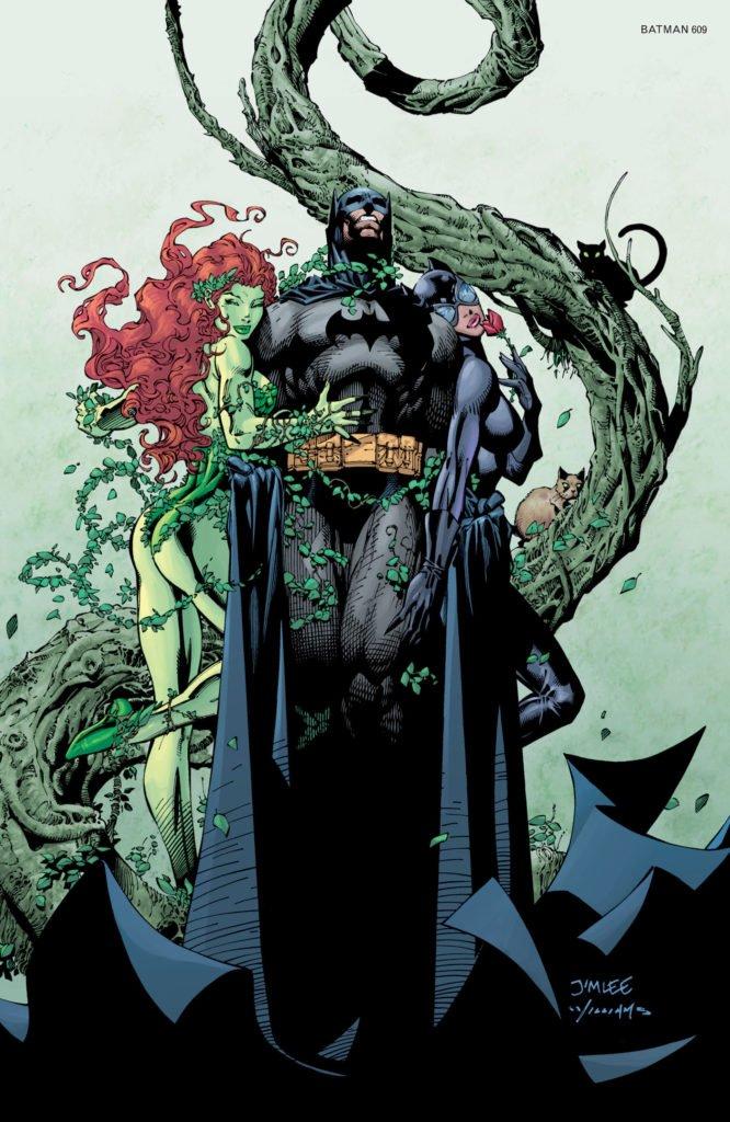 Batman Hush - Poison Ivy y Batman