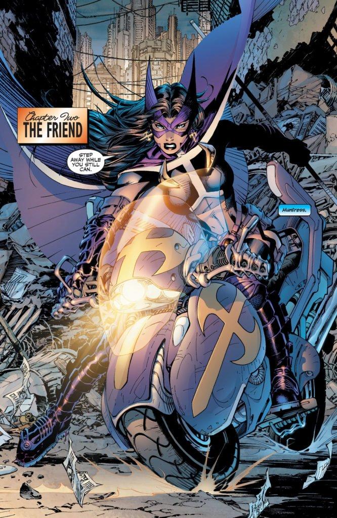 Batman Hush - Huntress