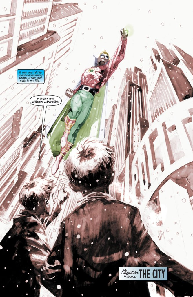 Batman Hush - Green Lantern Original