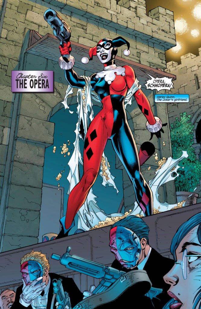 Batman Hush - Harley Quinn