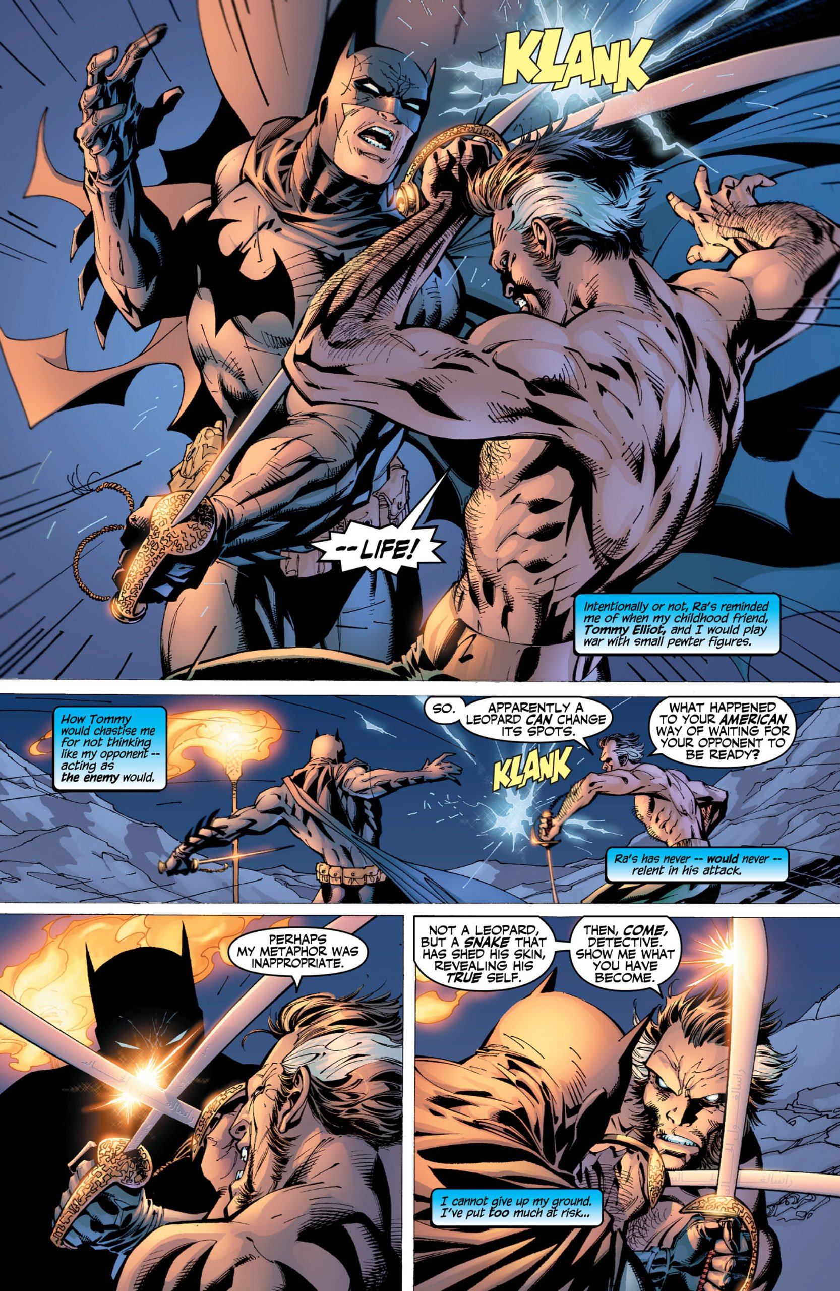Batman Hush Pelea