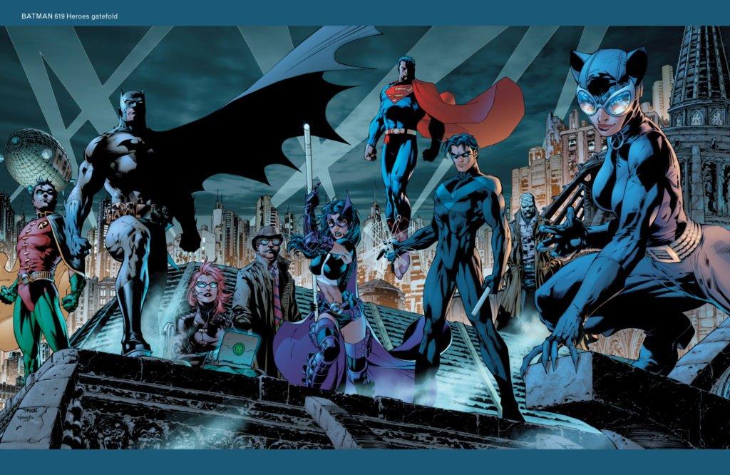 Batman Hush Grupo