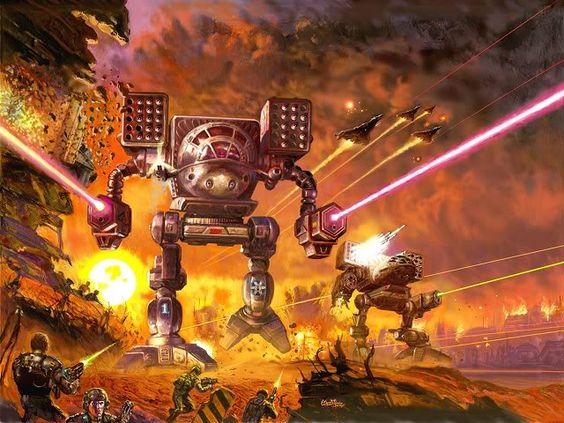 Battletech Batalla