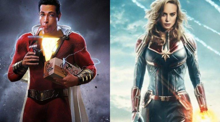 Marvel y Shazam