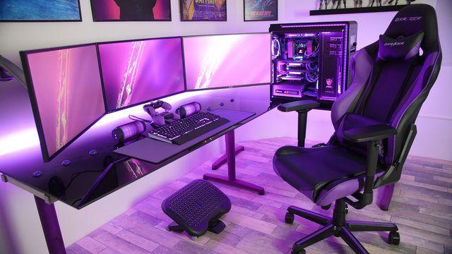 Sillas y mesas de gaming