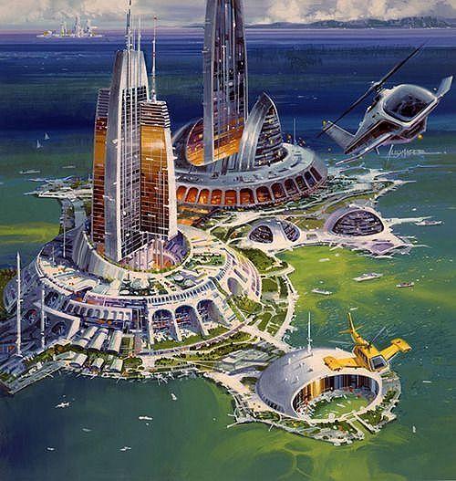 Islas artificiales del futuro