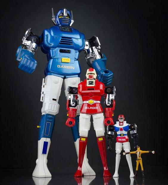 Gordian Warrior Robots y Daigo