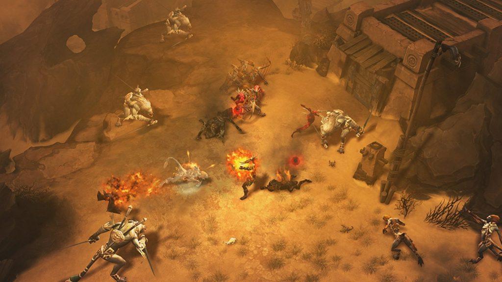 Diablo III - Los Mejores Videojuegos para Jugar Dinero
