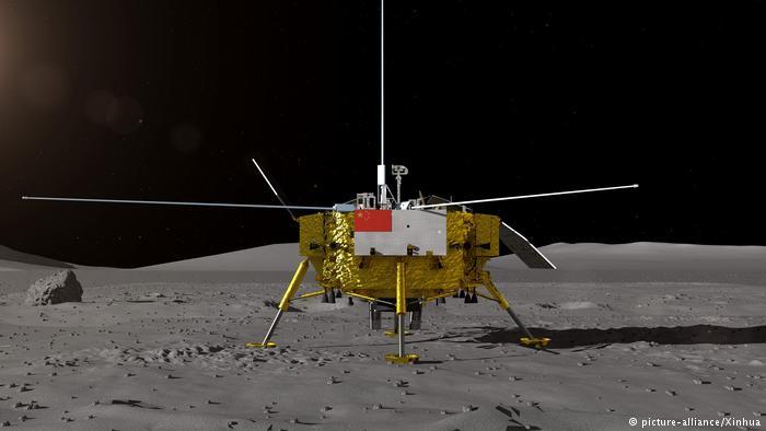 Chang'e-4 China en el lado oscuro de la Luna