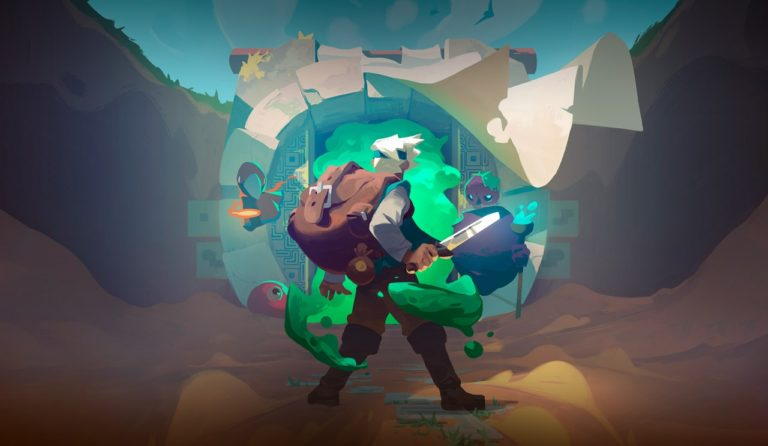 Moonlighter Gameplay en Español Portada