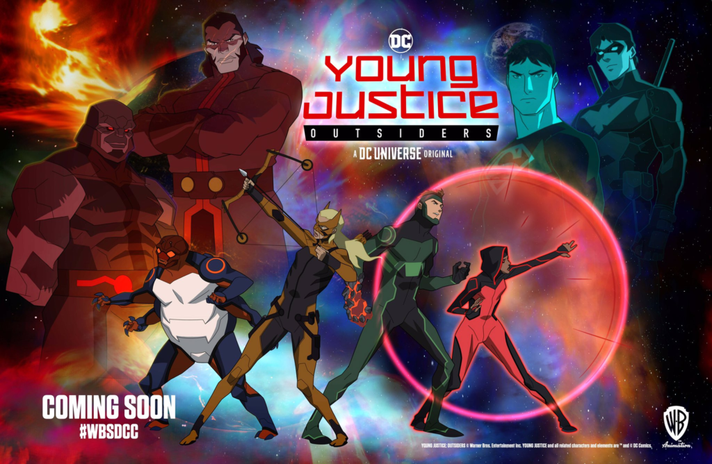 Young Justice Outsiders Poster