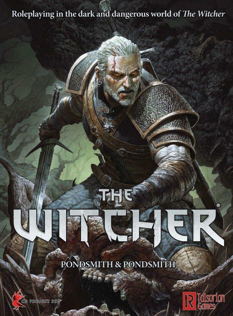 The Witcher El Juego de Rol de Lapiz y Papel - Los Mejores Juegos de Rol del 2018