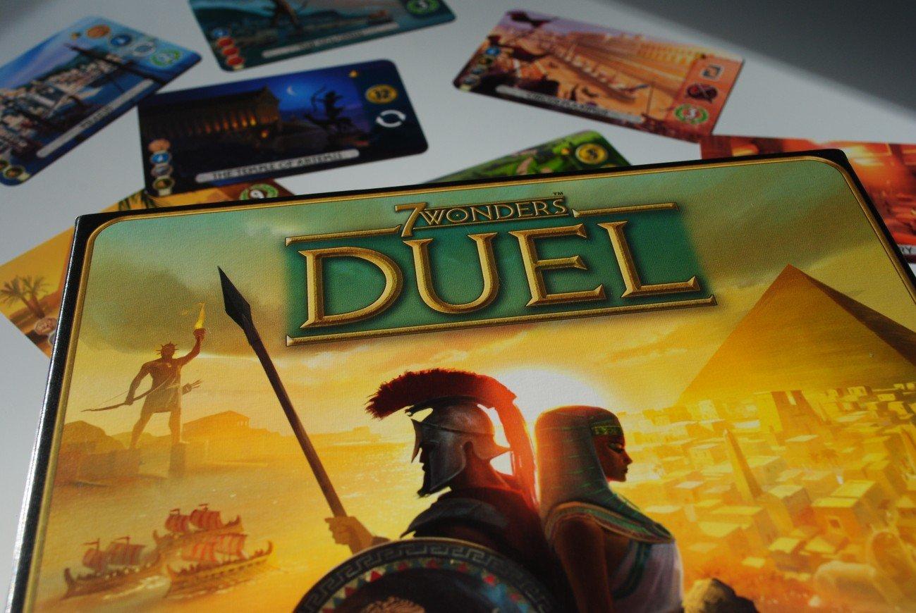 Los mejores juegos de mesa para dos jugadores - 7 Wonders Duel