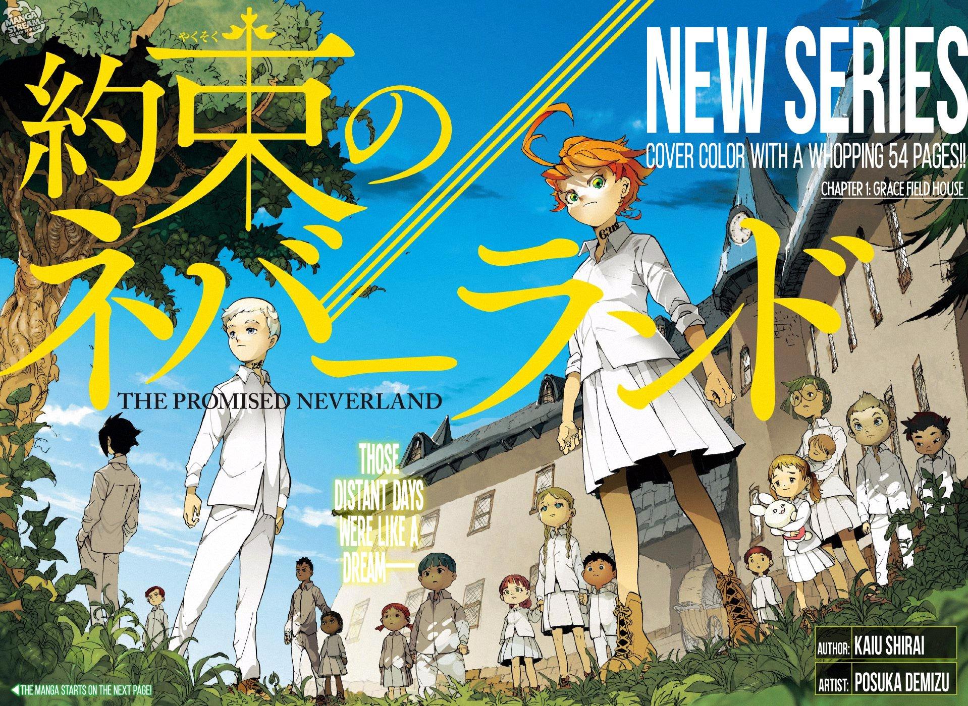 The Promised Neverland - Manga