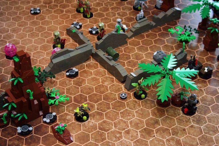 Fireteam Tactics - Sci-Fi Brick Combat
