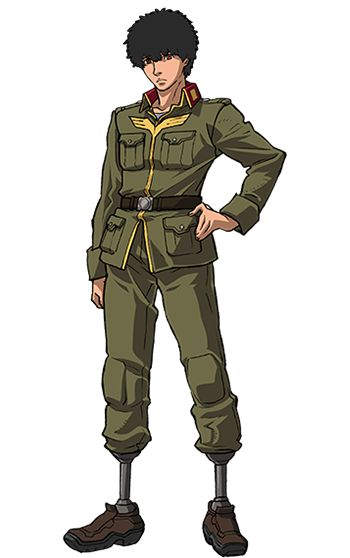 Gundam Thunderbolt Daryl