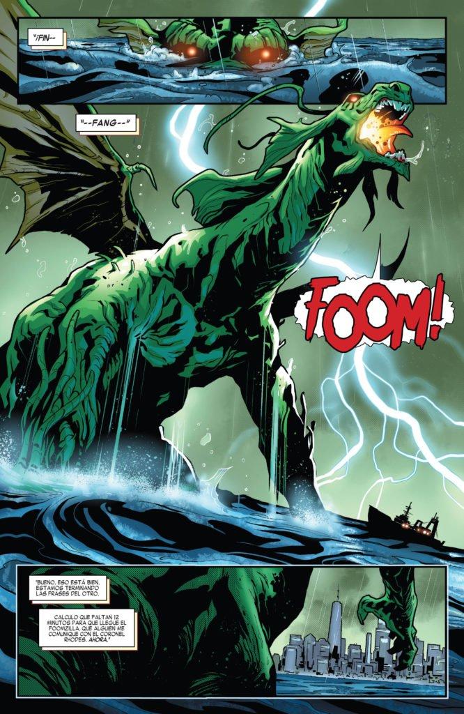 Tony Stark: Iron Man - Fin Fang Foom