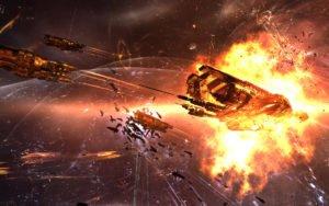 Eve Online Batalla